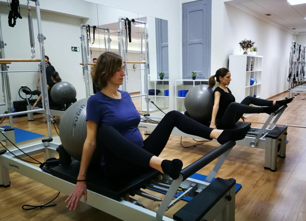 pilates para embarazadas en les corts y sants